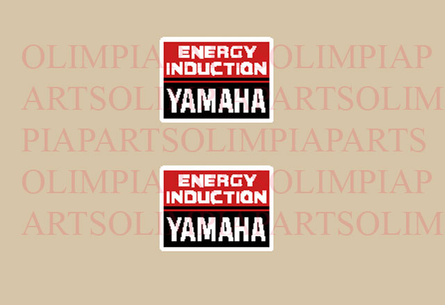 @ Yamaha Energy induction etichette @
