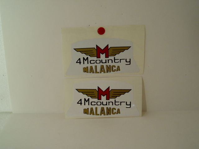 Malanca 4m country adesivi
